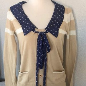 💐Anthro💐Guinevere cardigan size (Small)
